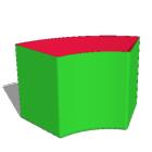 Box40: F4 -  Bogen Ø160cm 60°