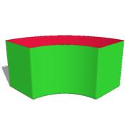 Box40: F5 -  Bogen Ø160cm 90°