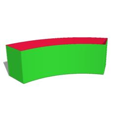 Box40: H4 -  Bogen Ø320cm 60°