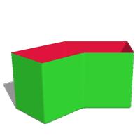 Box40: D3 - Winkel 45°